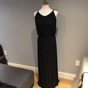 Gap Large Tall Black Maxi Dress